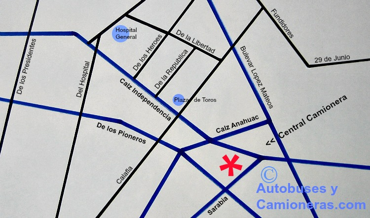 Central Camionera de Mexicali