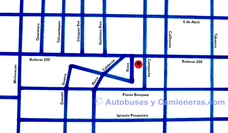 Central Camionera de Ciudad Obregon
